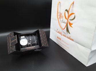 Clueless Montre Femme - Collection Eclipse - Mesh Argent - Cadran Nacre| BCL10230-002S