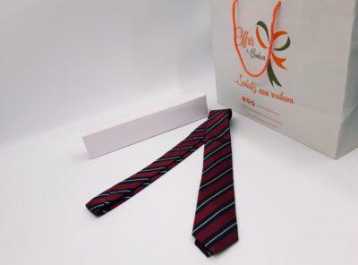Cravate (tu / bordeaux)