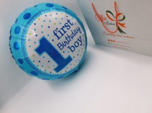 Ballon First birthday