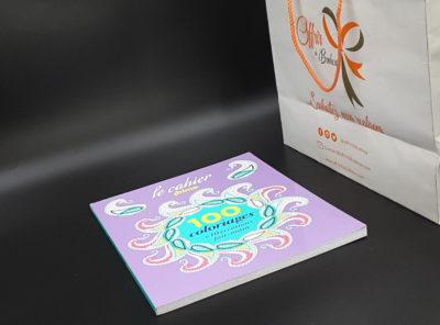 Le cahier 100 coloriages + 10 créations fait-main