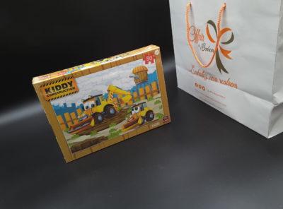 Puzzle 50 pièces Kiddy Construction