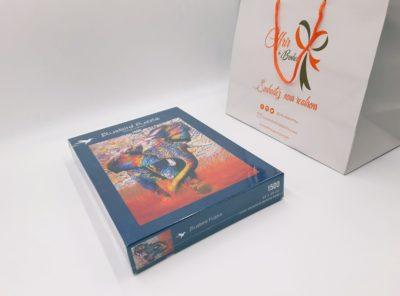 Puzzle 1000 pièces African Colours