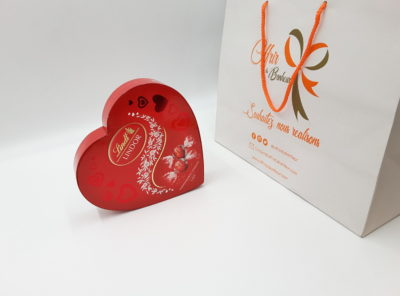 Chocolat Lindor Cœur Lait 160g